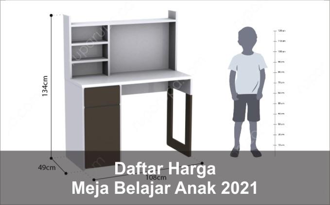 harga meja belajar anak 2021