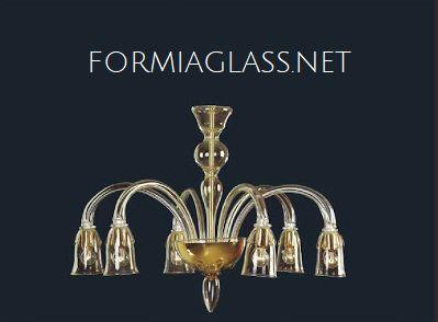 Modello-GoldenPower-lampadario-di-Murano-in-vetro-soffiato-con-oro
