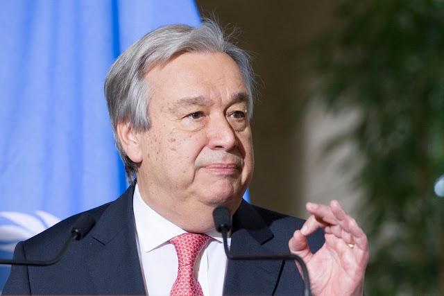 António Guterres, preocupado por la tensa situación en el Sahara Occidental