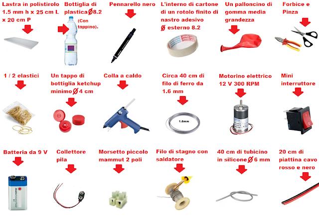 materiale-occorrente-pompa-aria-fai-da-te