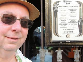 Mike Regenstreif at Preservation Hall, New Orleans, LA.