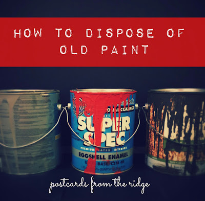 6 ways to organize your coat closet postcards from the ridge for How to dispose of empty paint cans