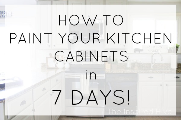 How To Paint Your Kitchen Cabinets Fast! With The Right Tools, Itu0027s Easy!