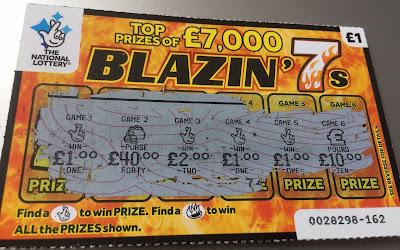Blazin' 7s £5 Win