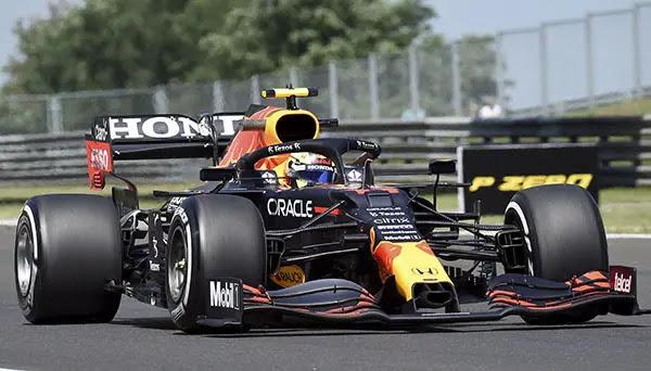 Sergio Pérez calificación Hungría