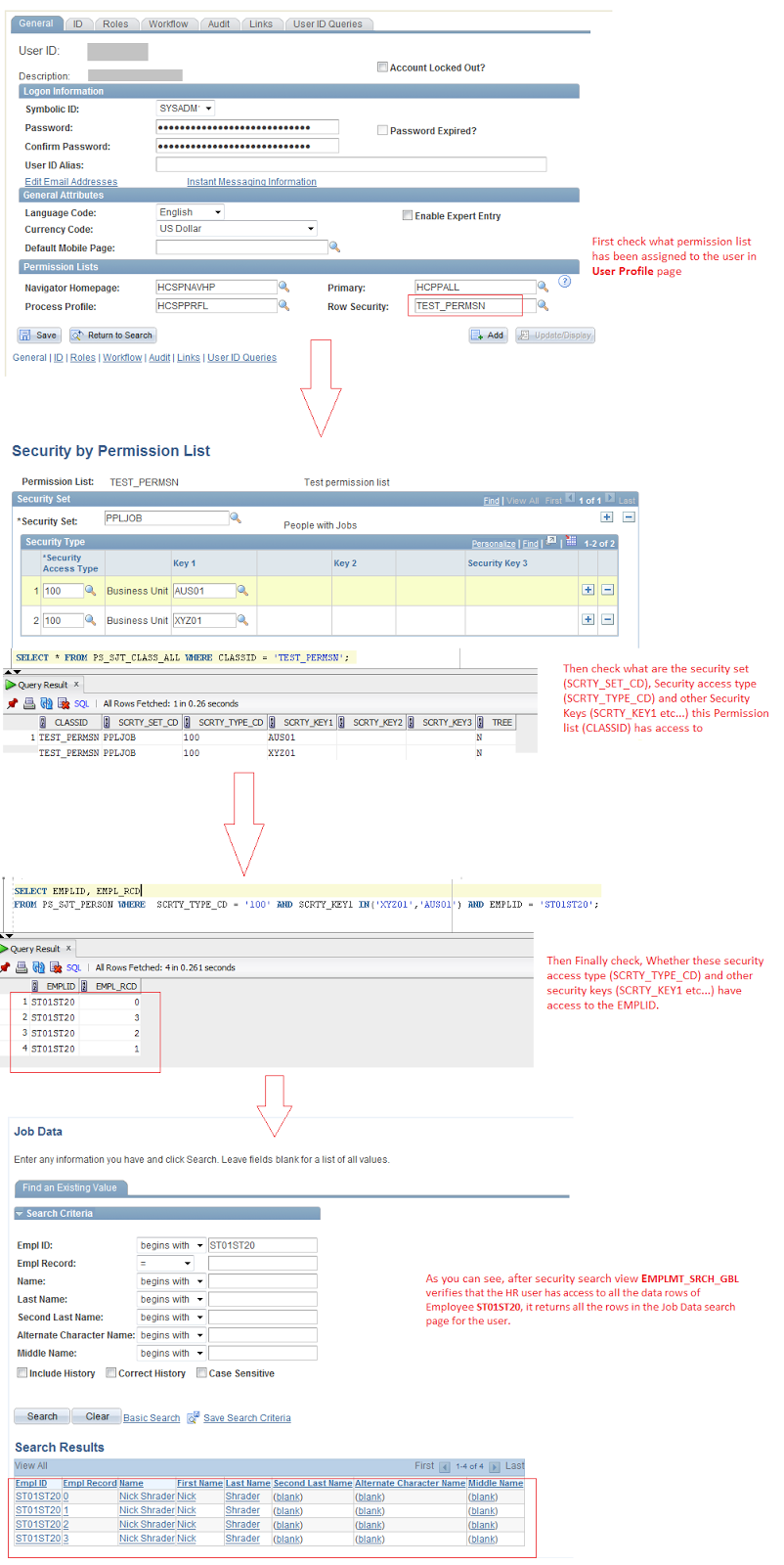 PeopleSoft Blog on HRMS Key Concepts: Peoplesoft Row Level