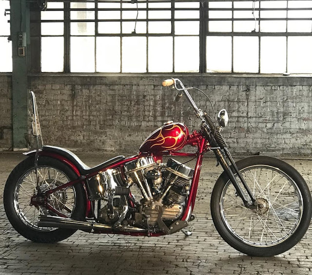 Harley Davidson Panhead By Eric Mills Hell Kustom