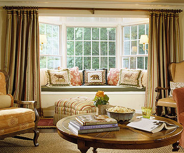 Bay and bow window treatment ideas home appliance - Bay window decorating ideas ...