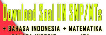 Download Soal UN SMP/MTs