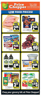 Price Chopper Prices August 16 - 22, 2018