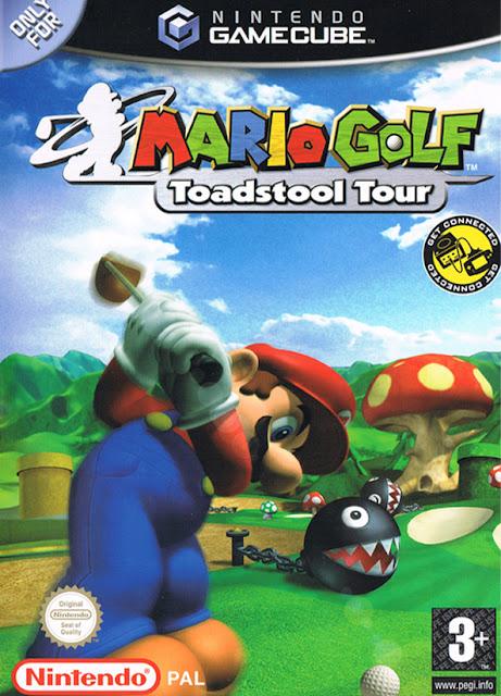 Mario Golf Toadstool Tour ISO GC