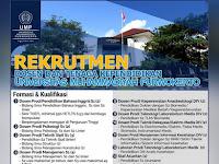 Lowongan Dosen Bahasa Inggris UMP Purwokerto