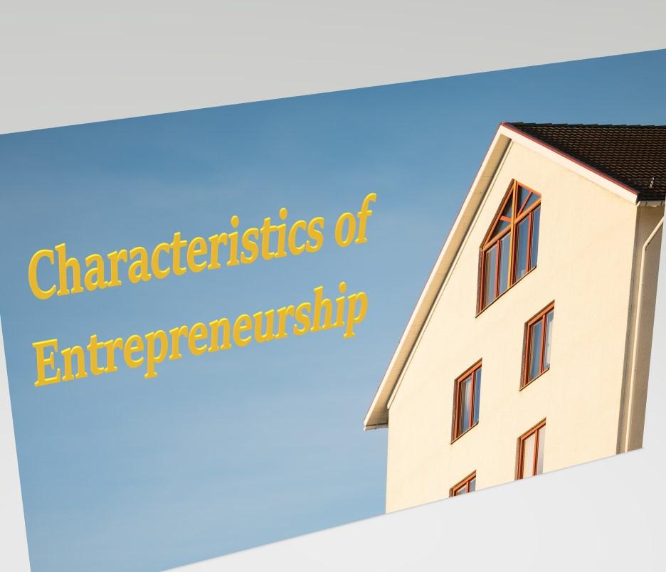 Characteristics of Entrepreneurship