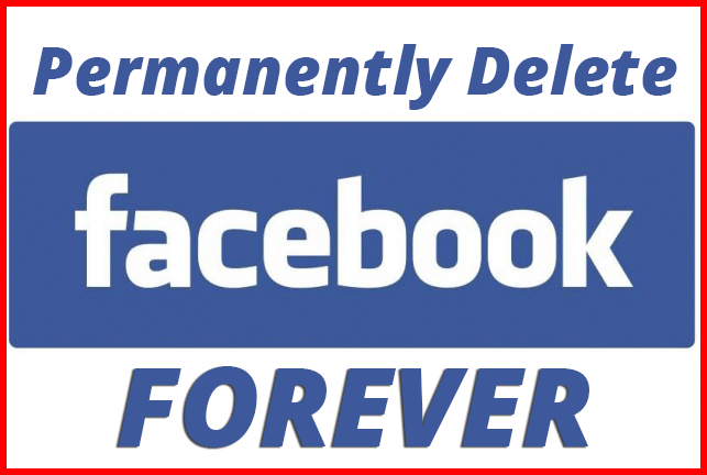 How to delete facebook account permanently ccuart Choice Image