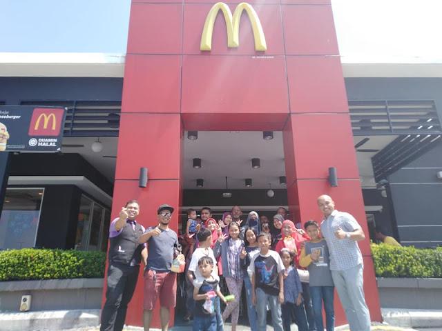 En Mohd Fairuz Iqma Francaisor Kepada McDonald's Sunway City Ipoh DT Salah Satu Francais di Malaysia