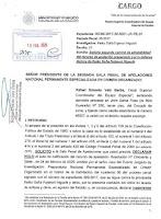 Caso Keiko Fujimori solicitud de segundo control de admisibilidad a la apelación presentada por Giulliana Loza