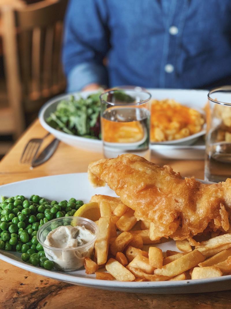 Restaurant à Fort Augustus au Loch Ness