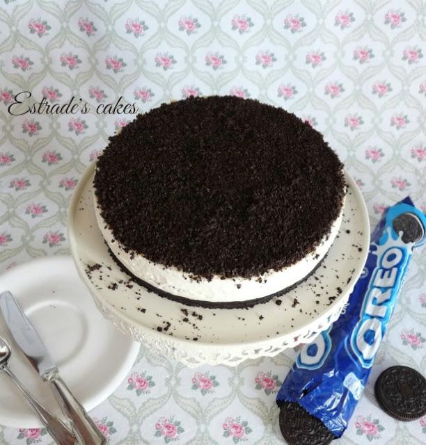 Receta de tarta de Oreo sin horno 1