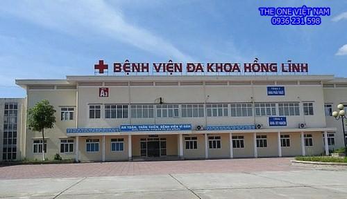 Máy giặt sấy công nghiệp cho bệnh viện ở Hà Tĩnh
