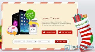 giveaway : Leawo iTransfer gratuit pour Noël !