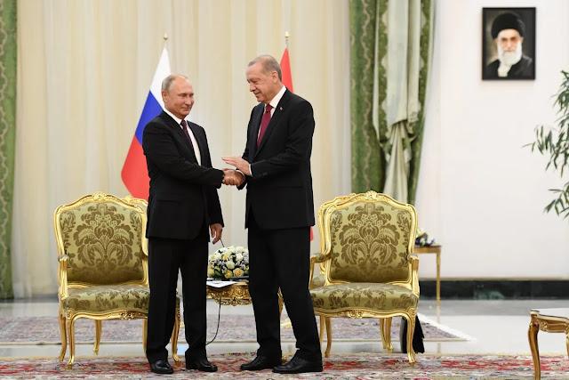 Οι σχέσεις Πούτιν και Ερντογάν δεν φαίνονται να είναι ποτέ ξανά οι ίδιες