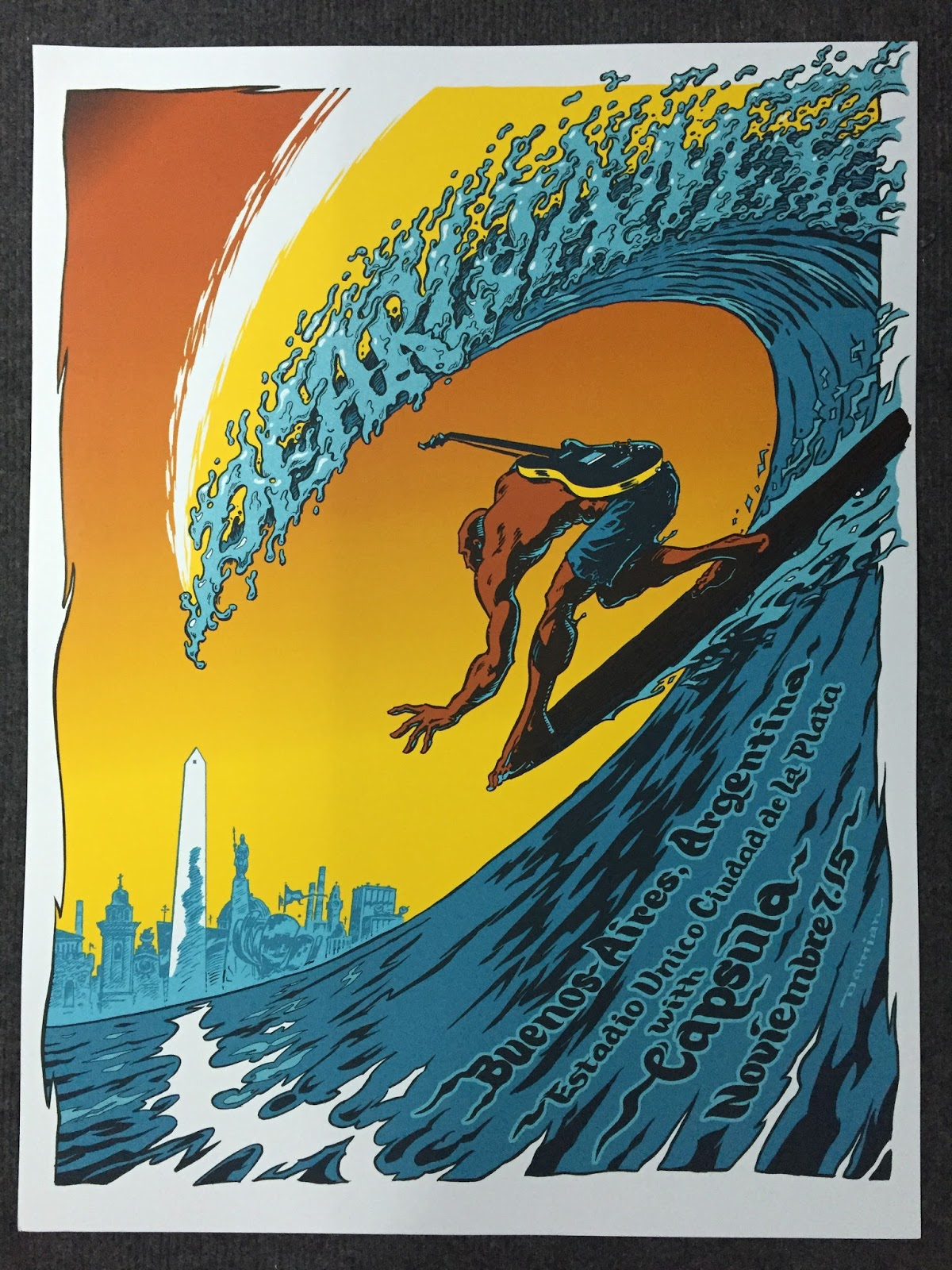 gallery openings with Damian Fulton Pearl Jam Buenos Aires Argentina Poster on Studio 88 likewise Selected Brand Hiab moreover Visit also Hostess Job Description Resume furthermore Phantom City Creative Phantasm And Wolf Man Movie Poster.