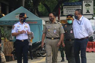 Gubernur Anies Pastikan Seluruh Protokol Kesehatan Berjalan Baik