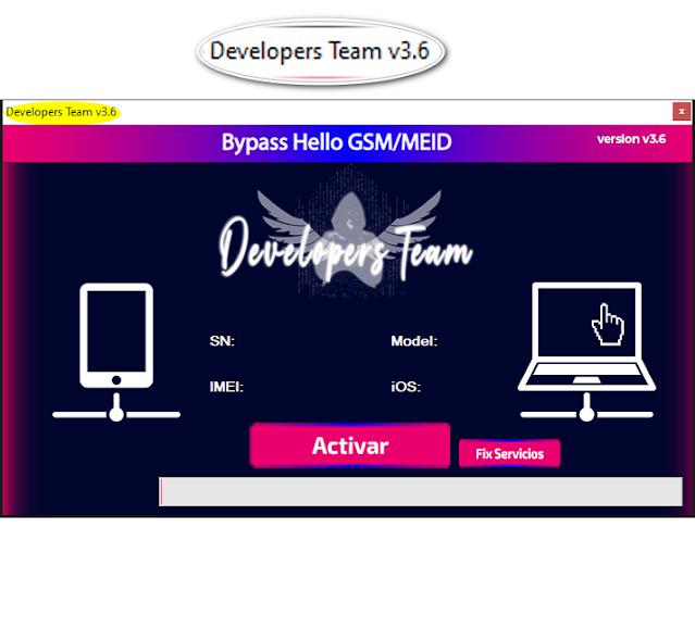 Developer Team Tool v3.6 FMI OFF Tool For Windows Computer