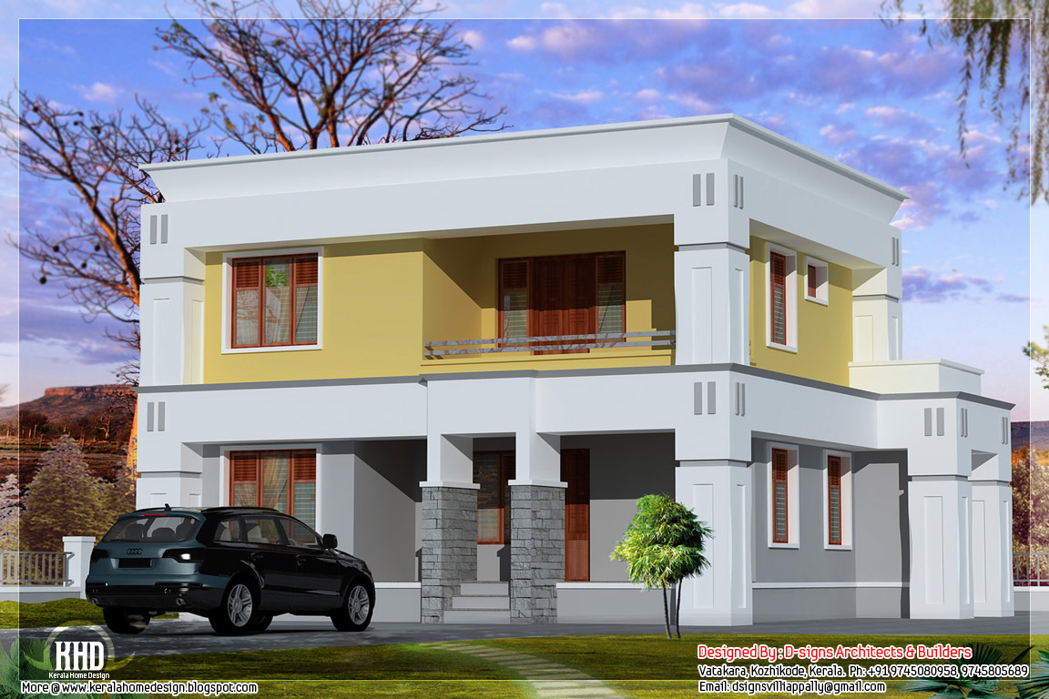 Small box type home design kerala home design and floor for Blueprint small house plans