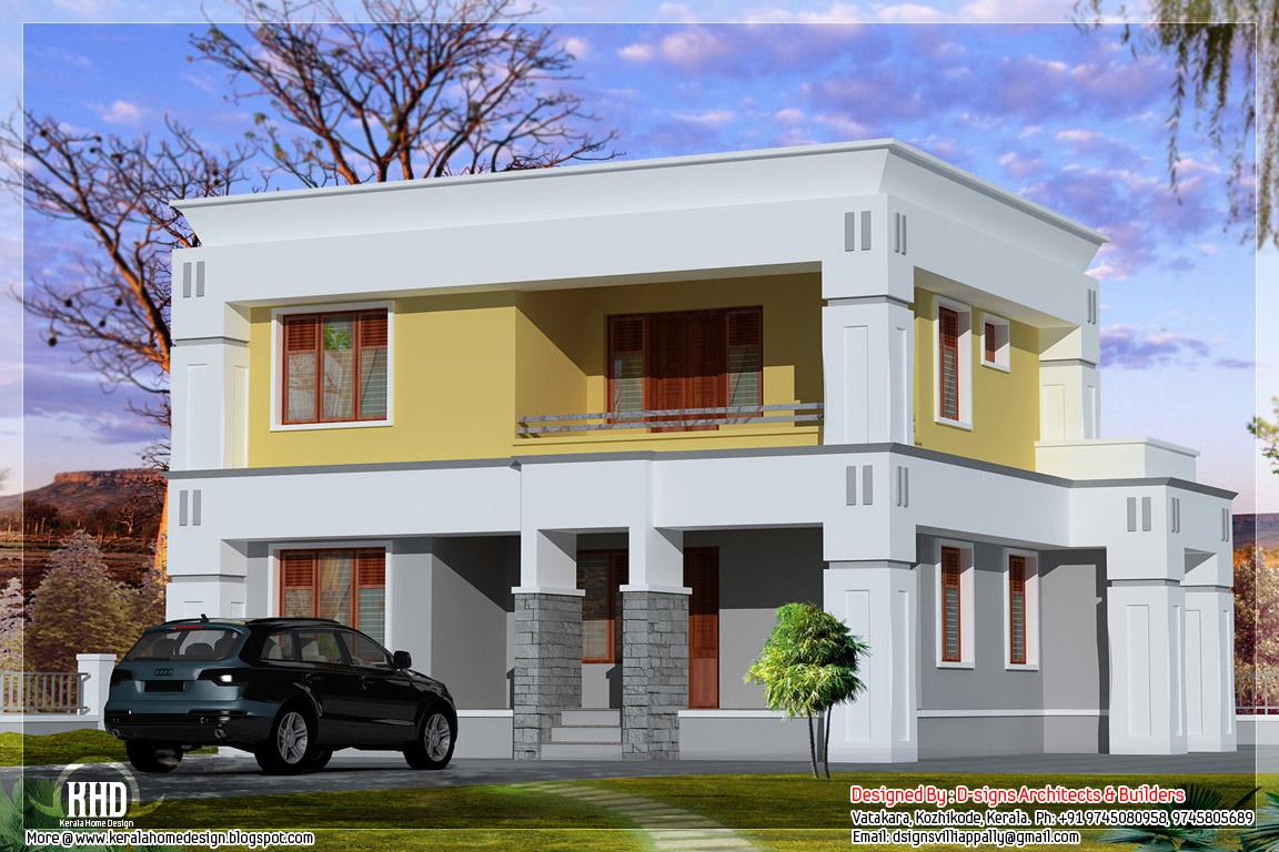 Small box type home design - Kerala home design and floor ...