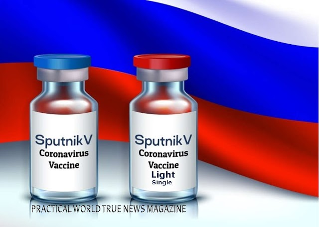 Breaking News : Sputnik Light, the single-dose version of the Sputnik V COVID-19 vaccine, has been filed in Russia and several other countries,