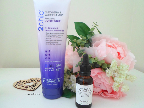 Reviews for Love Lula: Giovanni 2Chic Repairing Conditioner and By Sarah London Organic Facial Oil