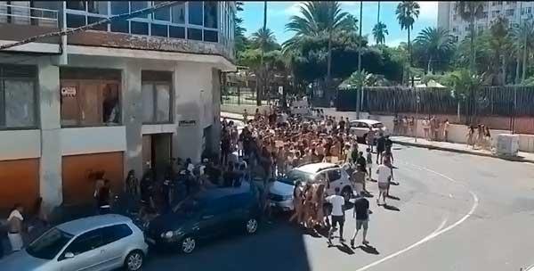 Incidentes fiesta infantil Schamann