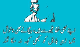 allama iqbal poetry in urdu love