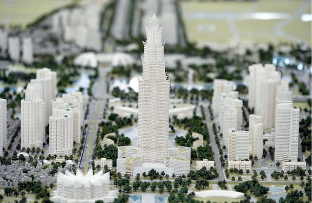 Tòa tháp cao 108 tầng tại dự án