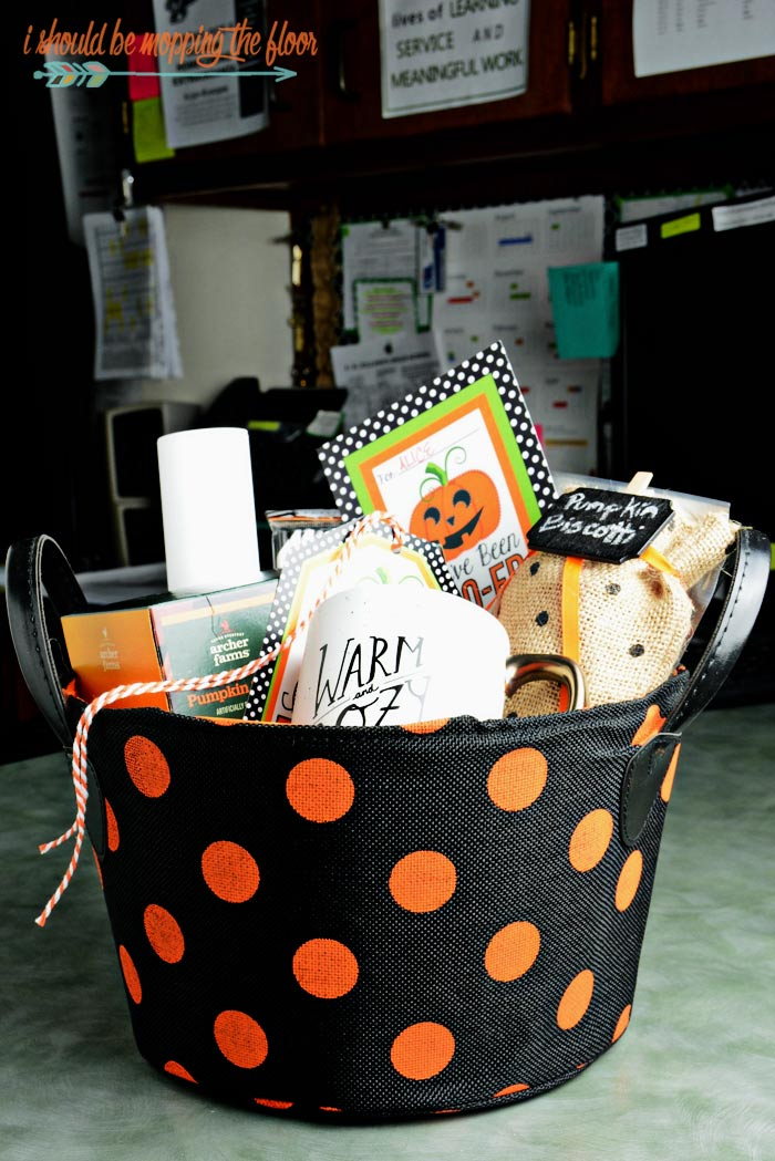 Boo Basket Ideas and Free Printables