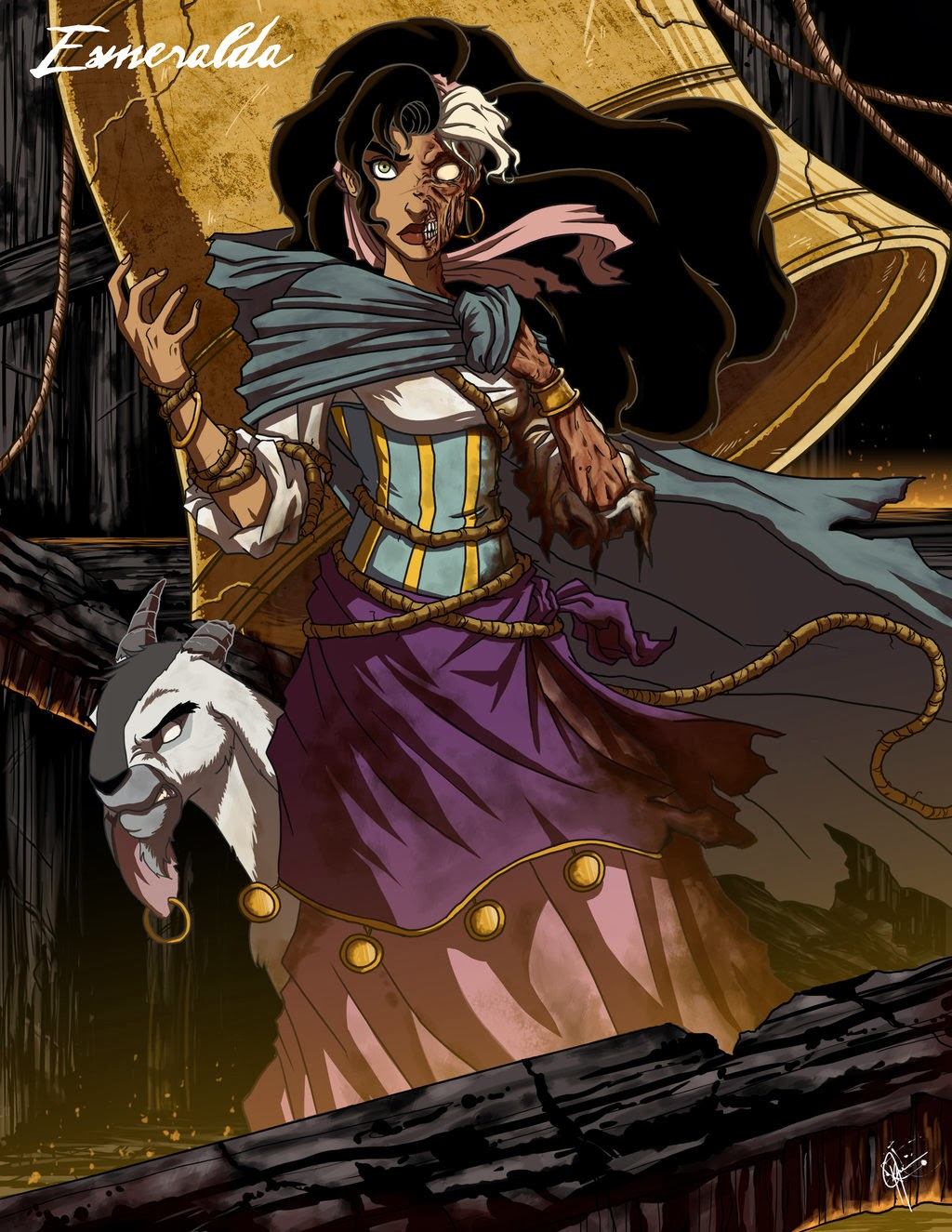 Twisted Princess - Công chúa hoạt hình, phiên bản Zombie