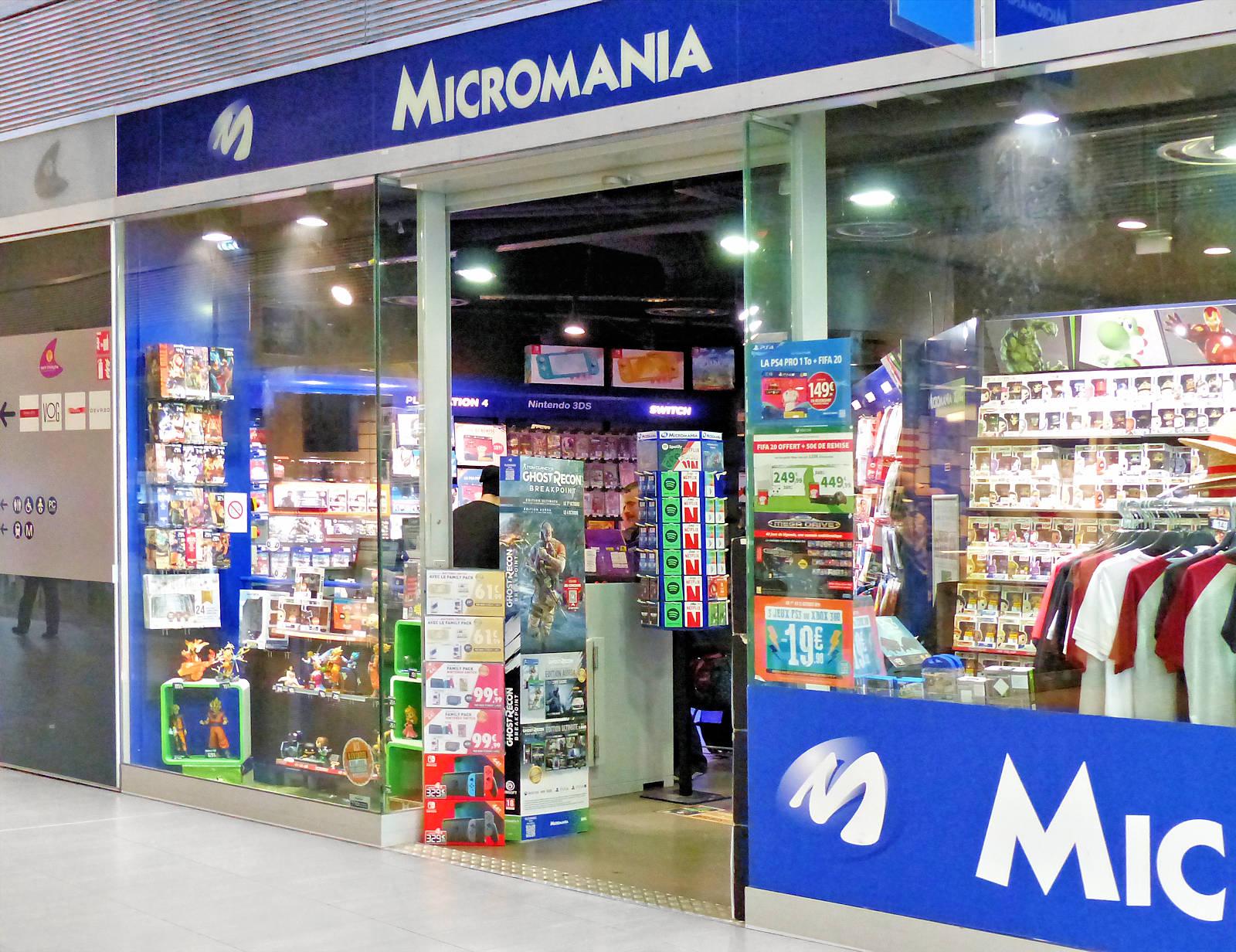 Micromania Tourcoing - Espace Commercial Saint-Christophe