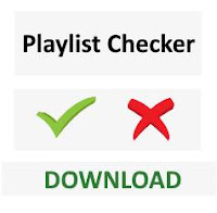 Playlist checker