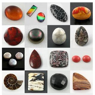 gemas orgânicas, fotos de geology.com