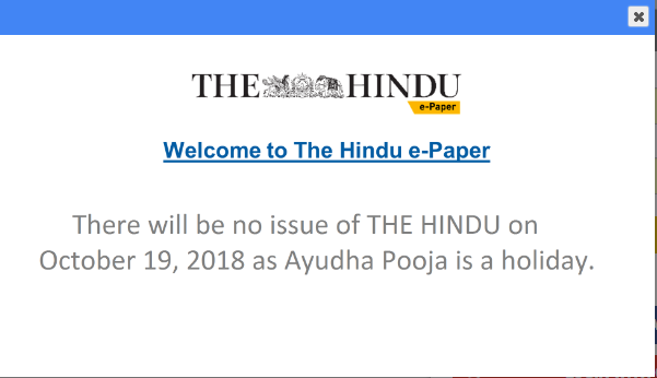 THE HINDU NEWSPAPER IMPORTANT ARTICLES 19 10 2018 - VISION