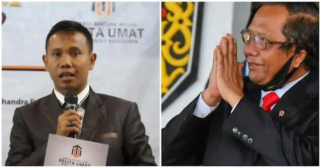 Menteri Koordinator Bidang Politik, Hukum dan Keamanan (Menko Polhukam) Mahfud MD meminta agar masalah bernegara atau berbangsa tidak dicampuradukkan dengan urusan agama. Sebab, menurut dia Agama adalah urusan pribadi. (12/11/2020).