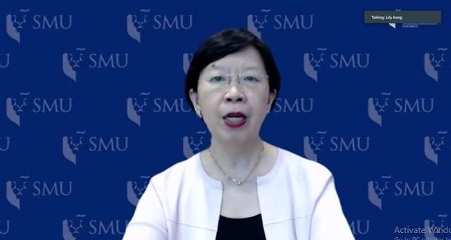 Lily Kong, selaku Presiden Singapore Management University (SMU)