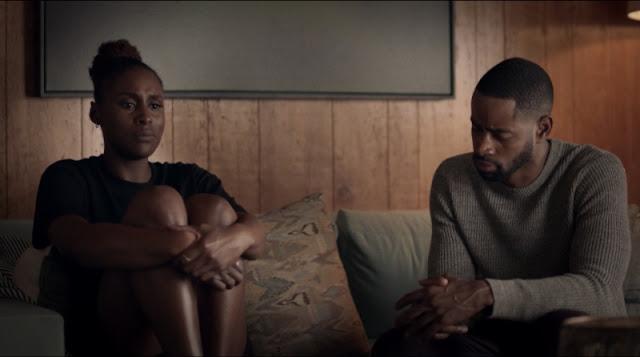 Issa y Lawrence en Insecure