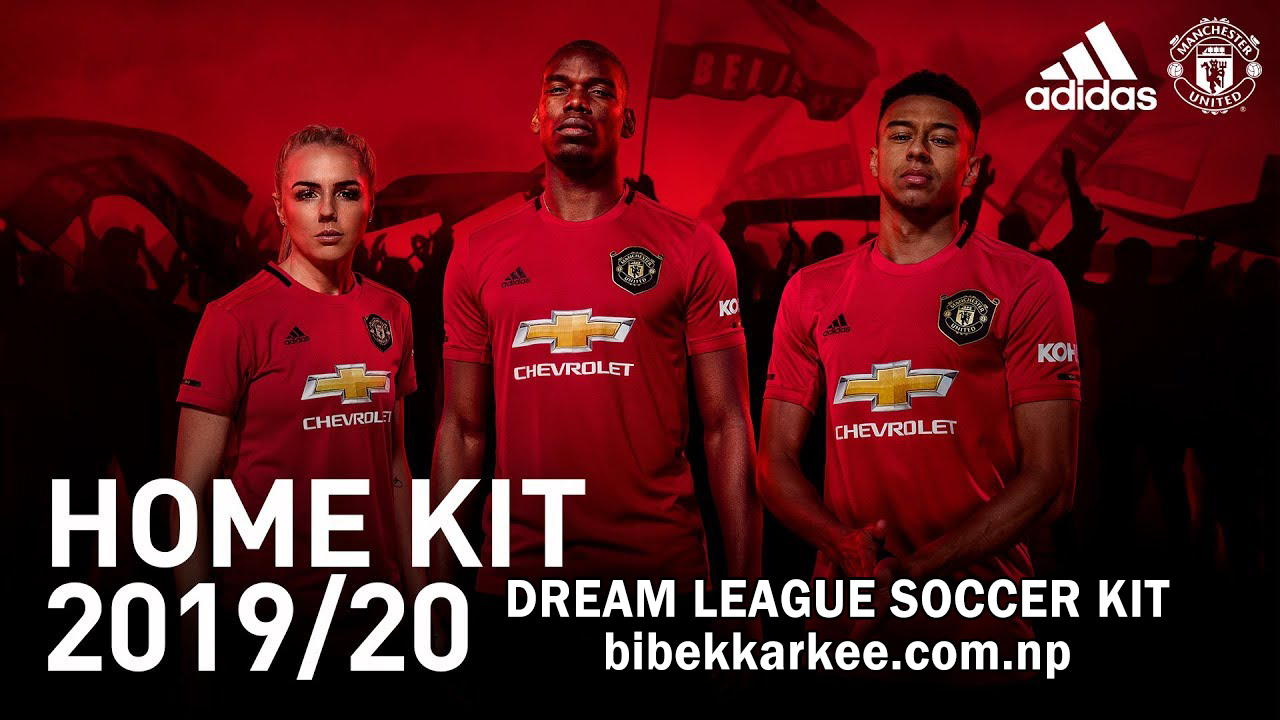 Dream League Soccer Kits Manchester United 2019 — BCMA