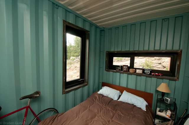 1500 sq ft Off-the-Grid Shipping Container Home, Nederland, Colorado 2