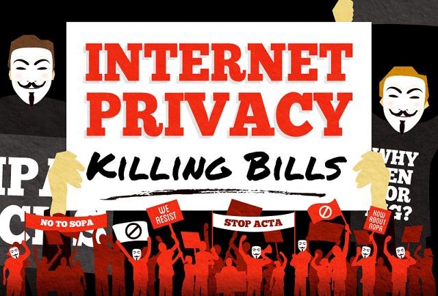 Internet-Privacy-Killing-Bills #Infographic