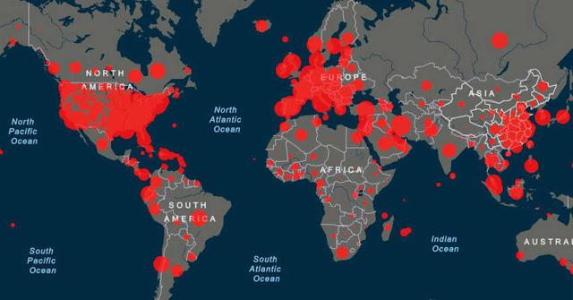 El mundo registra más de 23,5 millones de casos de coronavirus y suma dos reinfectados