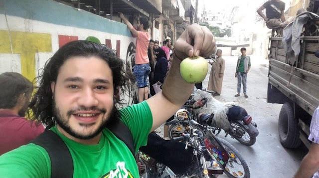 pasar di timur aleppo sayur dan buah