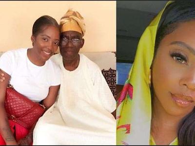 Singer, Tiwa Savage loses her father